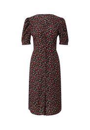 Rut & Circle Abito camicia 'INEZ'  nero / rosso chiaro / bianco / smeraldo