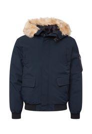 Schott NYC Giacca invernale 'KEYBURN'  navy / marrone chiaro
