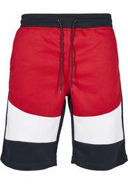 SOUTHPOLE Pantaloni  bianco / navy / rosso
