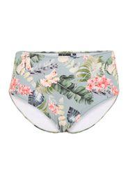 Swim by Zizzi Pantaloncini per bikini 'CALINEA'  blu chiaro / colori misti