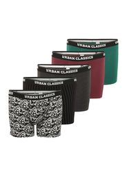 Urban Classics Plus Size Boxer  nero / rosso / verde / bianco