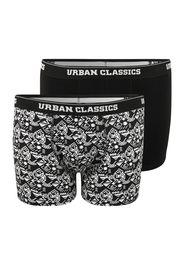 Urban Classics Plus Size Boxer  nero / bianco