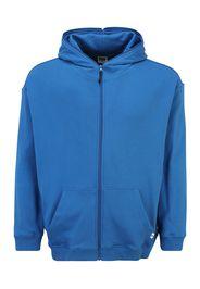 Urban Classics Plus Size Giacca di felpa  blu reale