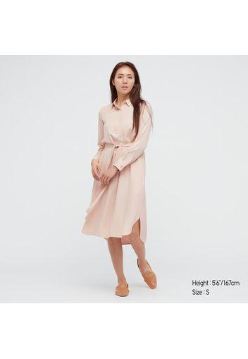 Vestito A Camicia Rayon Donna