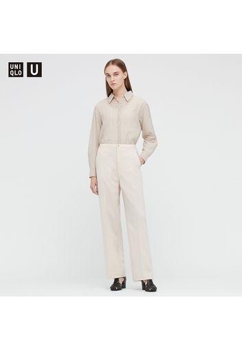 Pantaloni Da Completo Uniqlo U Relax Taglio Dritto Donna