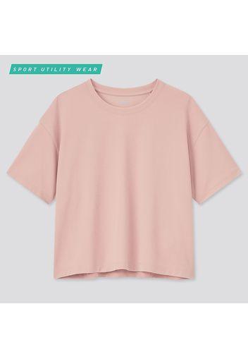 T-Shirt Dry-Ex Taglio Corto Girocollo Donna