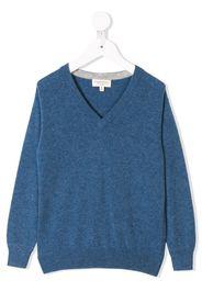 Cashmirino Cashmere v-neck jumper - Blue