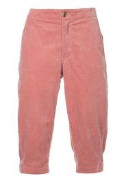 Comme Des Garçons Pre-Owned corduroy shorts - Pink