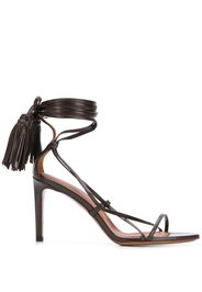 strappy ankle-tie sandals