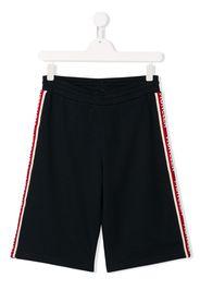 logo side-stripe shorts