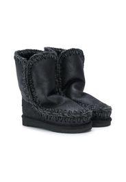 Mou Kids slip-on boots - Black