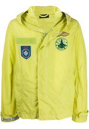 patch-embellished jacket