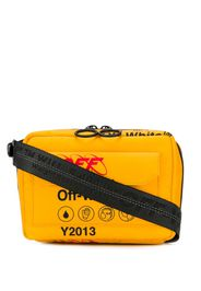 Off-White industrial travel shoulder bag - Yellow
