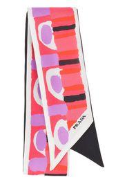 Prada printed ribbon - Pink