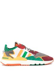 White Mountaineering colour block panelled sneakers - Multicolour