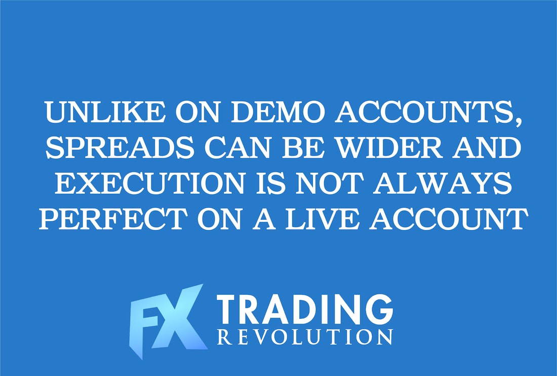 Forex Demo vs. Real Accounts: Execution of Orders