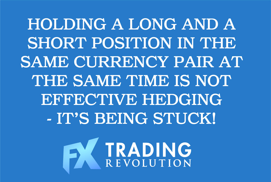 Hedging in retail Forex trading – The big misconception