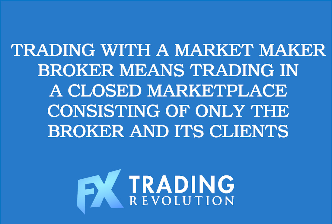 Trading with a Market Maker FX broker