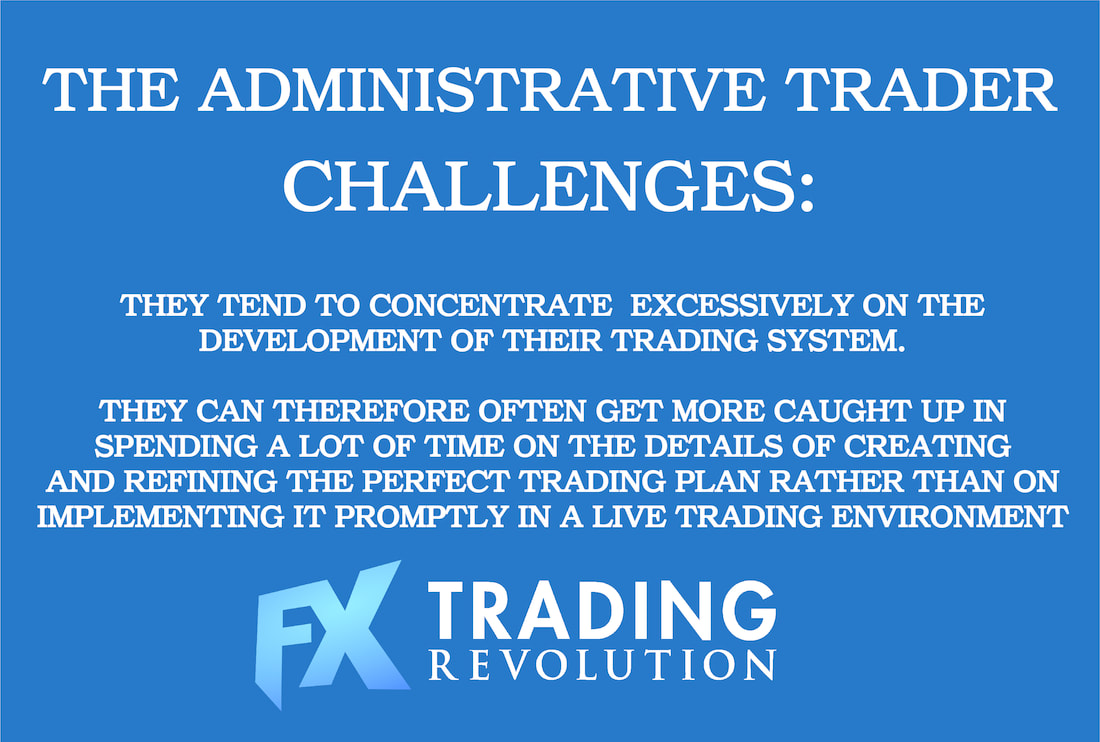 Forex Trading: The Administrative Trader Challenges