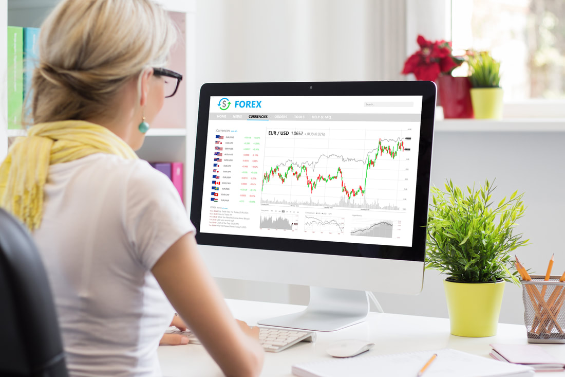 Trend trading the Forex market