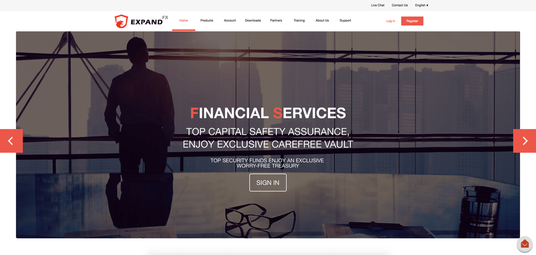 ETFinance website