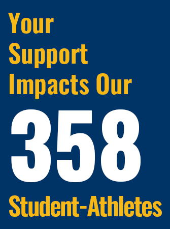 Your Support Impacts Our 358 Student-Athletes