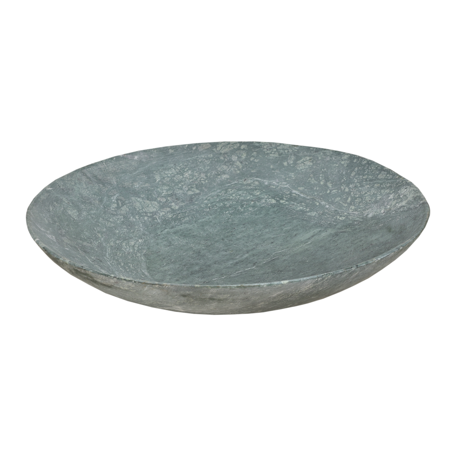 Bowl marble green