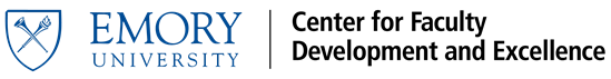 Visit the website of Emory University Center for Faculty Development and Excellence
