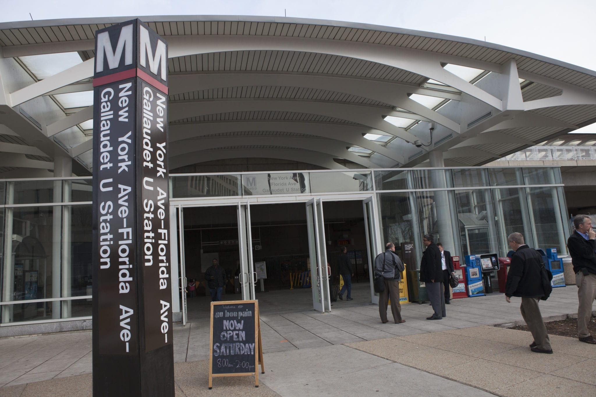 NoMa/Gallaudet Metro Station