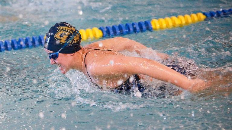 GU Swimmer Athlete