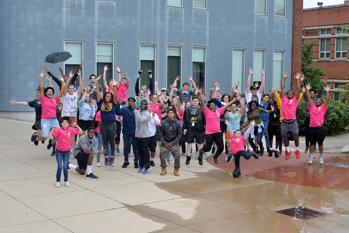 Students of the Jumpstart ASL program