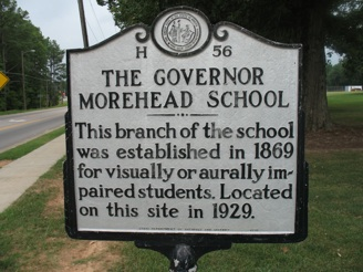 North Carolina State School for the Colored Deaf and Blind (NCSSCDB) in Raleigh