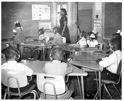The Southern School for the Colored Deaf and Blind in Scotlandville established in 1938