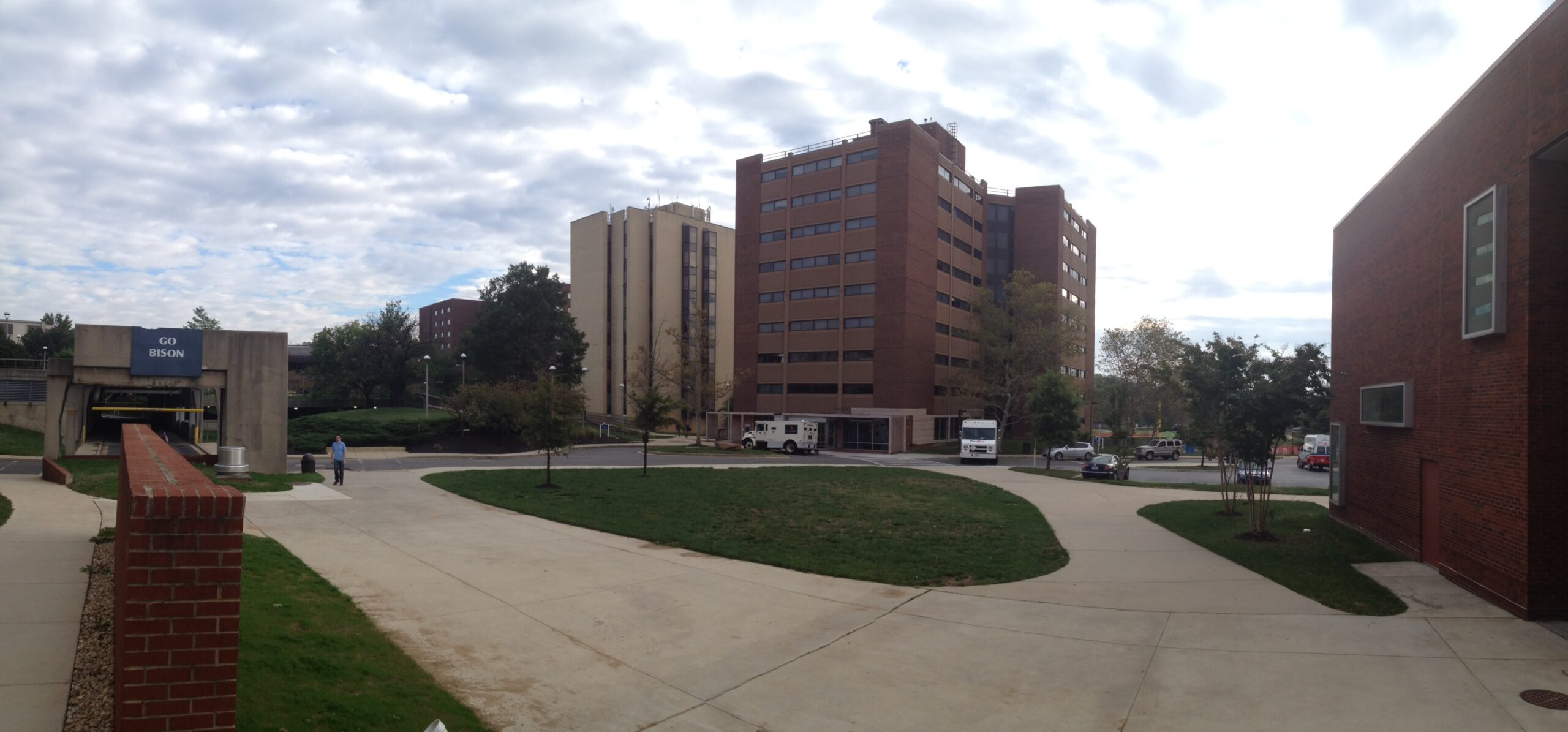 Panoramic View of Benson, Clerc, and Carlin