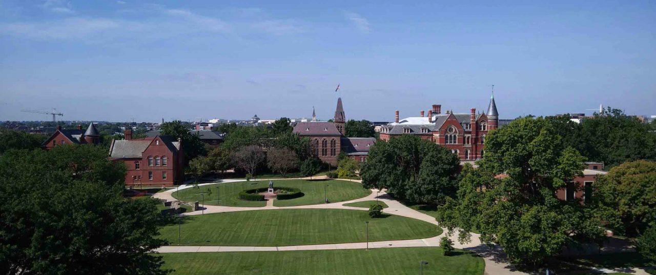 Landscape GU campus