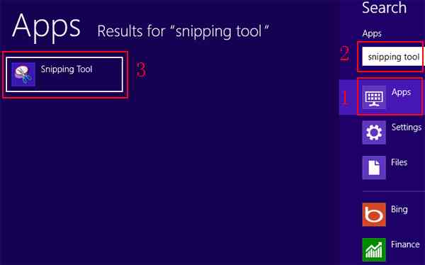 How to take screenshots on Windows 8 method 2 step 3
