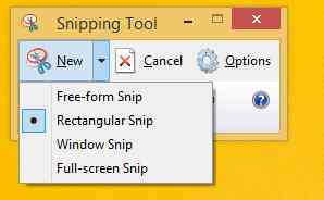 How to take screenshots on Windows 8 method 2 step 5