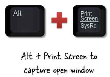 How to take screenshots on Windows 7 method 1 step 2