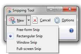 Take a screenshot using Snipping Tool on Windows 10 step 2