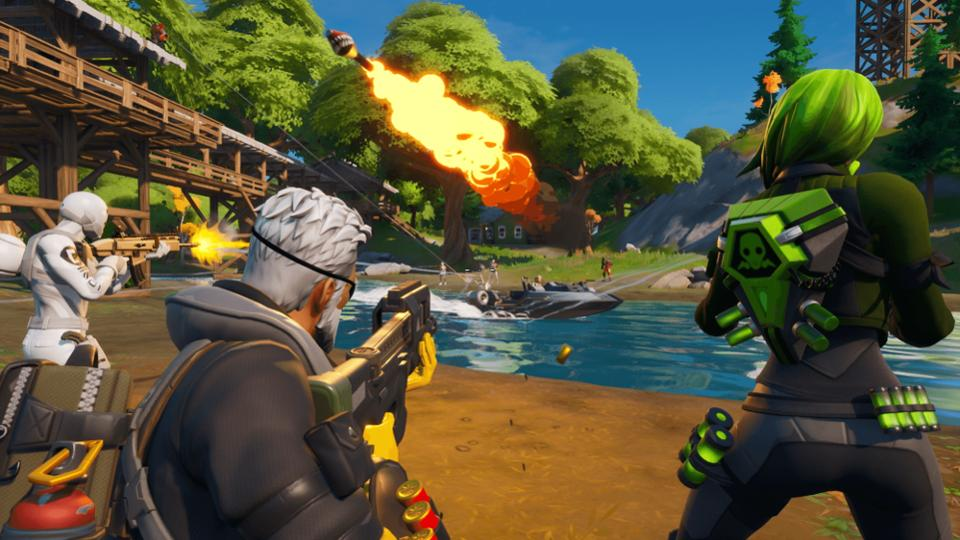 Screentearing Just With Fortnite Fortnite Pro Permanently Banned For Using Hacks To Make Videos