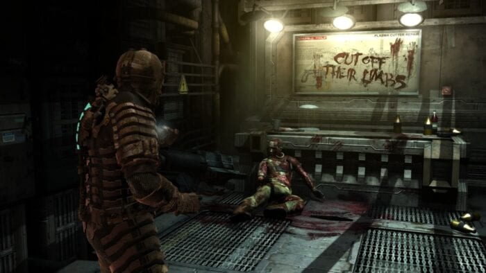 Dead Space load screens seamless experience