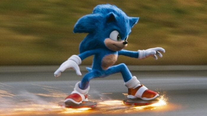Sonic the hedghog live action movie
