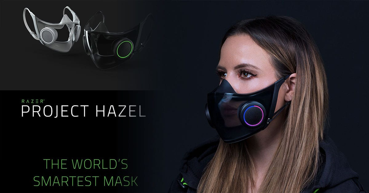Razer's Face Mask, Project Hazel, Is Releasing Later This Year