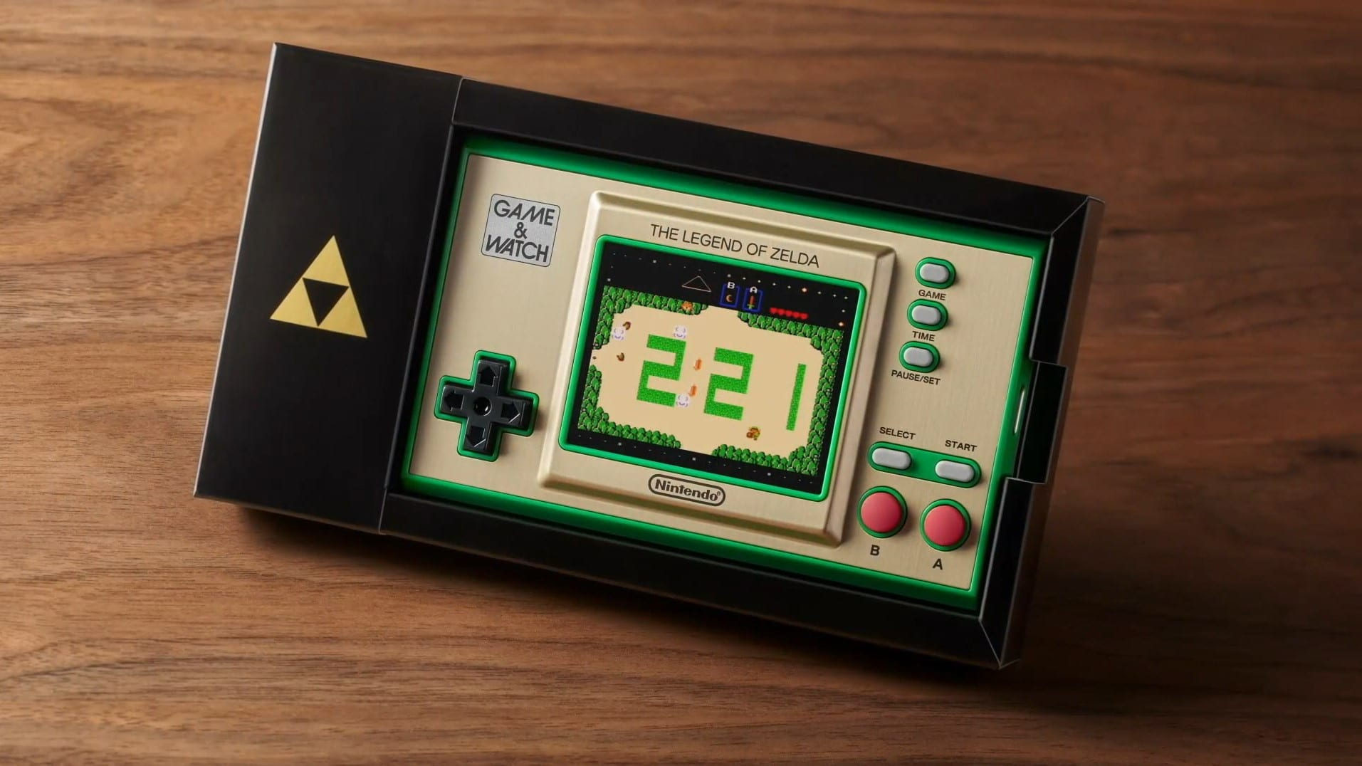 The Legend of Zelda Game & Watch Console Is Better Than Mario's