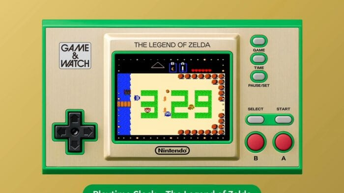 Zelda Game and Watch 3