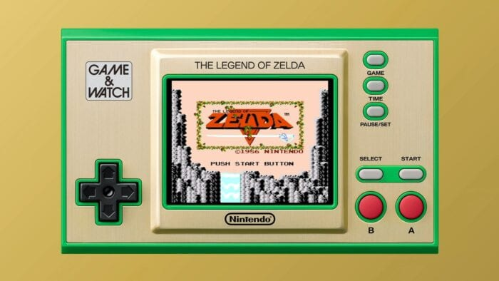 Zelda Game and Watch 1