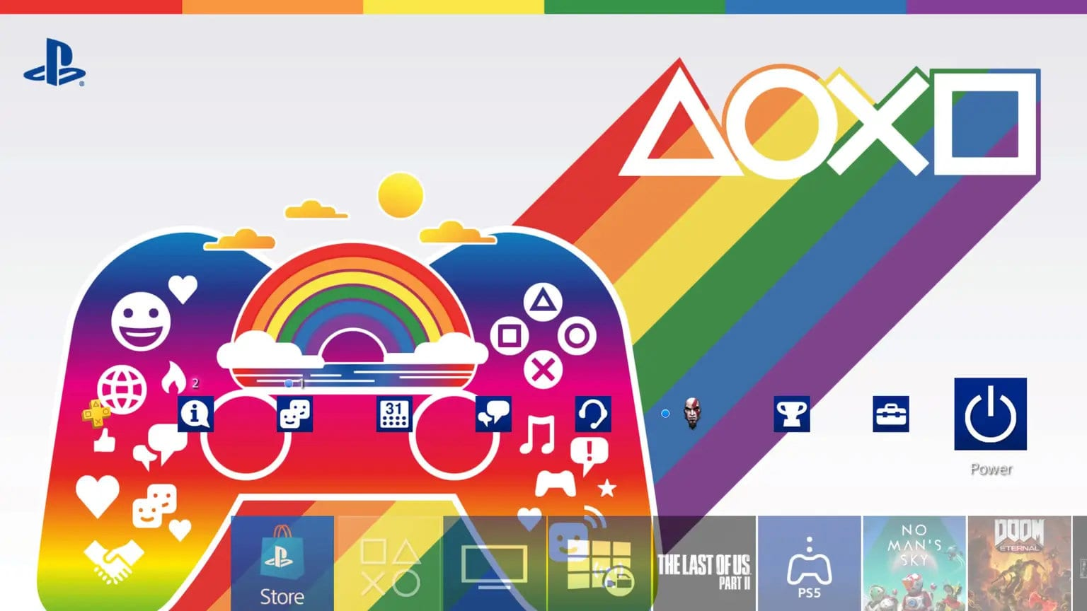 PlayStation Celebrates Pride With Curated Games List And Free Theme