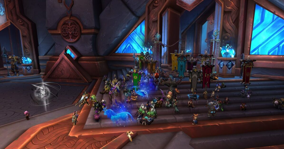 World Of Warcraft Players Stage In-Game Sit-In Protest Over Activision Blizzard Lawsuit
