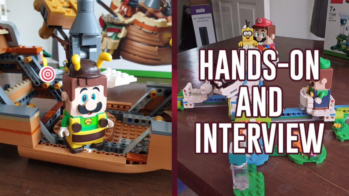 LEGO Super Mario: Adventures with Luigi   Hands-On Impressions and Interview