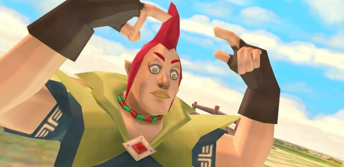Fan Notices Groose In Skyward Sword Is More Of A Jerk Than We Thought